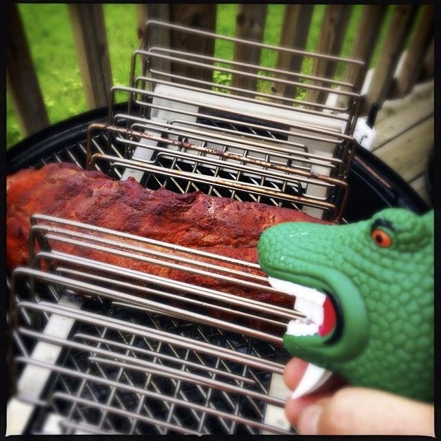 spareribs grillen 321 methode